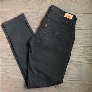Levi's black jeans 423